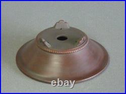 Tokoname Bonsai Pot BIGEI Cloud Legs Round Diameter 158mm à H 53mm