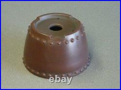 Tokoname Bonsai Pot BIGEI Round Diameter 92mm à H 60mm