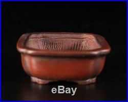 Tokoname Bonsai Pot Bigei Artist Mr. Hirata Atsumi