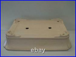 Tokoname Bonsai Pot KEIZAN Rectangle 560mm à 430mm à H 115mm