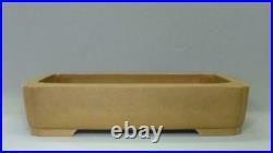 Tokoname Bonsai Pot MARUHEI Cutoff edge Rectangle515mm à 380mm à H 112mm