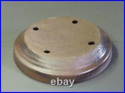 Tokoname Bonsai Pot REIHO Nanban with Edge Diameter 290mm à H 65mm