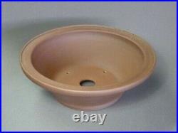 Tokoname Bonsai Pot REIHO Outer edge Round Diameter 282mmÃ95mm