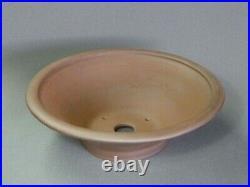 Tokoname Bonsai Pot REIHO Outer round Diameter 285mm à H 90mm