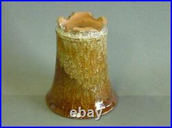 Tokoname Bonsai Pot SHUHO Amber Round Diameter 160mm à H 188mm