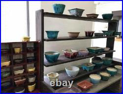 Tokoname Japanese Bonsai pot KOYO (10.07.92.5 in.) Green Color