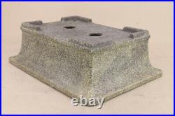 Tokoname ware Bonsai Pot Outer edge rectangular bowl 32cm new