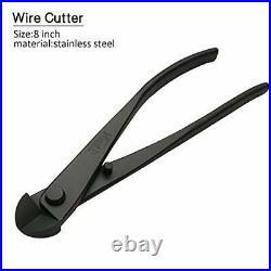 Vouiu 5-Piece Bonsai Tool Set, Knob Cutter, Concave Cutter, Wire Cutter, Jin Pliers