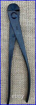 Yagimitsu Japanese Bonsai Tools 210mm Black Carbon Steel Wire Cutter